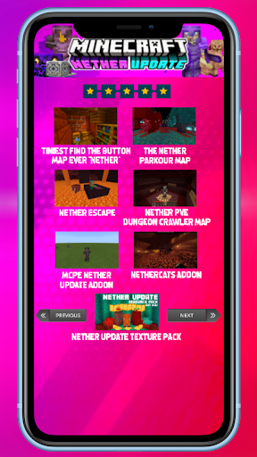 MCPE new Nether Update  Screenshots 6