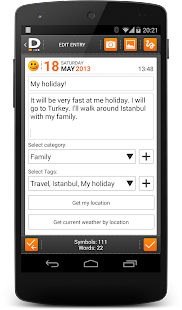 Private DIARY Pro - Personal journal Screenshot