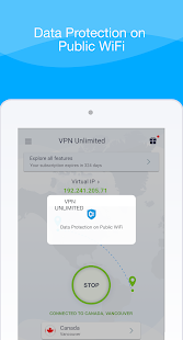 KeepSolid VPN Unlimited WiFi Proxy with DNS Shield Screenshot
