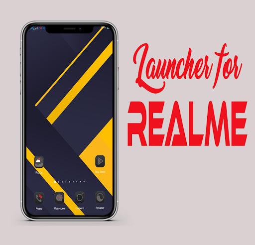 Launcher for Realme 6 pro and Realme X2  Screenshots 1
