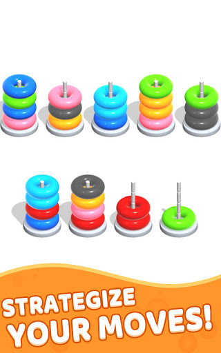 Color Hoop Stack - Sort Puzzle 1.1.2 screenshots 18
