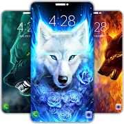Galaxy Wolf Wallpapers 4K [UHD]