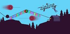 Zipline Valley -物理パズルゲームのおすすめ画像1