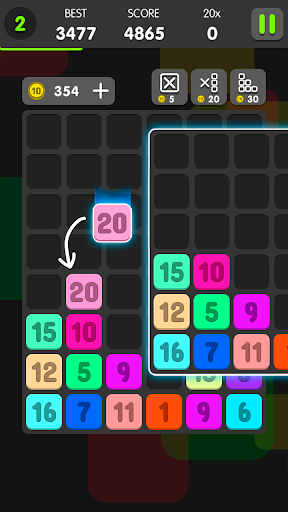 Drag And Merge Puzzle 1.0.4 screenshots 1