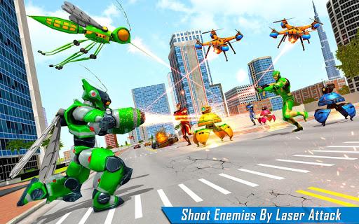Mosquito Robot Car Game - Transforming Robot Games 1.0.8 screenshots 13