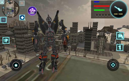 Iron Bot modiapk screenshots 1