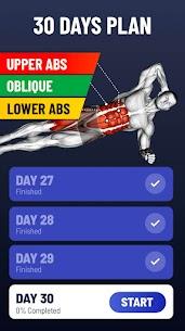 30 Günde Baklava Karın Kası – Karın Kası Egzersizi Apk 2