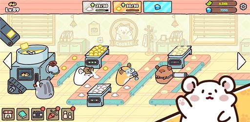 Hamster cookie factory - tycoon game  screenshots 8