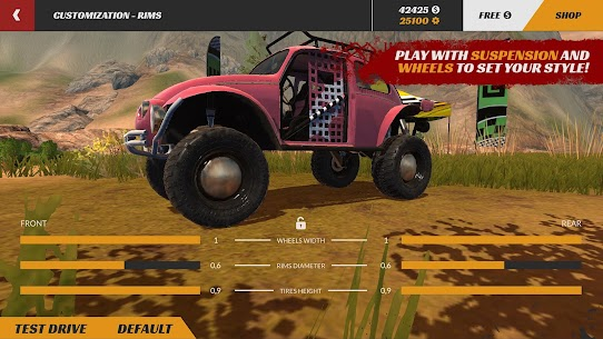 Offroad PRO – Clash of 4x4s MOD APK 1.0.15 (Free Shopping) 4