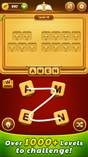 Bible Word Puzzle - Free Bible Word Games  screenshots 2