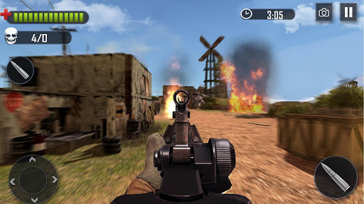 Battleground Fire Cover Strike: Free Shooting Game 2.1.4 screenshots 5