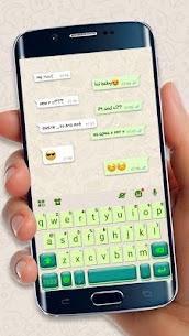 Sms Messenger Keyboard Theme 1