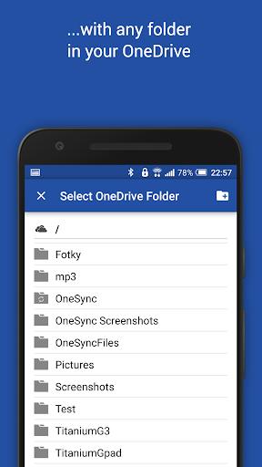 Autosync for OneDrive - OneSync screenshots 4