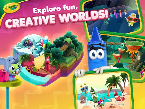 Crayola Create & Play: Coloring & Learning Games  screenshots 14