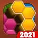 ヘキサジグソーパズル - Androidアプリ