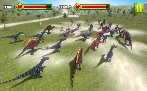 Jurassic Battle Simulator 3D  screenshots 15