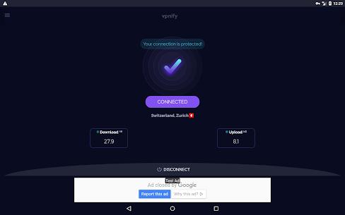 Free VPN – unlimited secure hotspot proxy vpnify [MOD] v1.9.0 v1.9.0 1