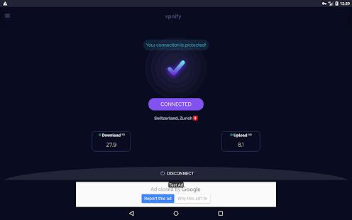 Free VPN - unlimited secure hotspot proxy vpnify 1.9.5 Screenshots 10