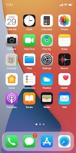 Phone 12 Launcher, OS 14 Launcher, Control Center 7.5.1 (VIP)