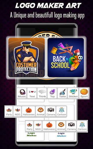 Logo Maker Free - 3D Logo Creator, Logo Design Art 1.3 Screenshots 3
