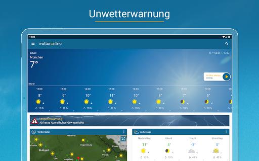 RegenRadar - mit Unwetterwarnung apktram screenshots 14
