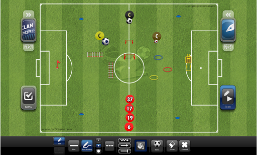 TacticalPad: Coach's Whiteboard, Sessions & Drills Apk 2