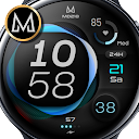 MD218 - Modern digital watch face Matteo Dini MD
