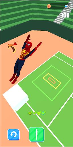 Superhero Flip Jump:Spider Sky  screenshots 2