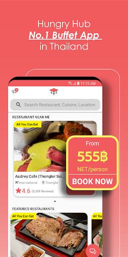 Hungry Hub - Thailand Dining Offer App 5.3.6 screenshots 1