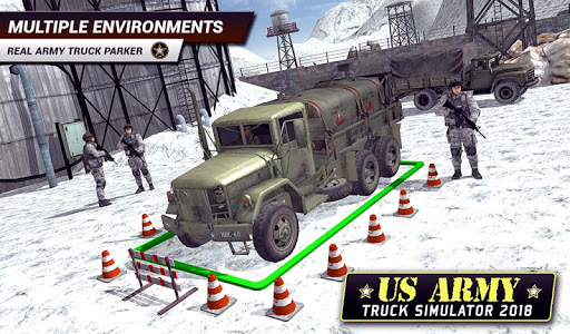 US Army Truck Driving 2018: Real Military Truck 3D apkpoly screenshots 18
