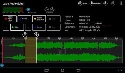 Lexis Audio Editor 6
