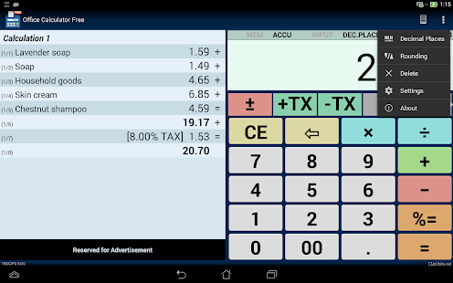 Office Calculator Free