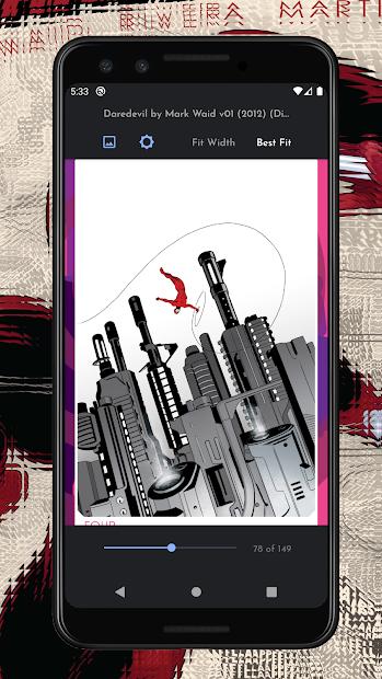 Imágen 3 de Comican : Comic book reader (CBR, CBZ, RAR) para android