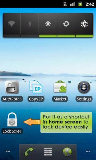 Lock Screen App  screenshots 1
