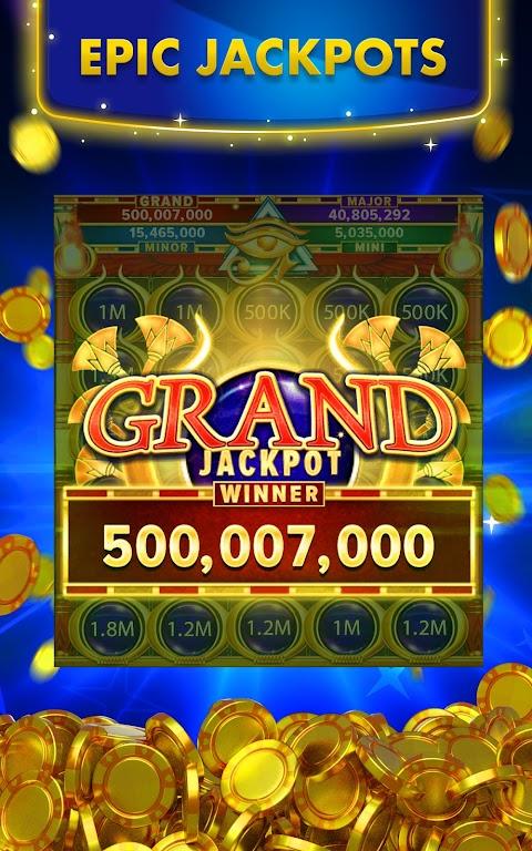Big Fish Casino - Play Slots and Casino Games poster 1