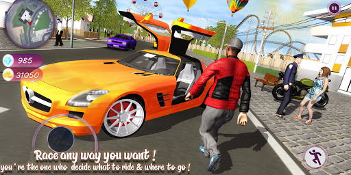 Grand Gangster Town : Real Auto Driver 2021  screenshots 1