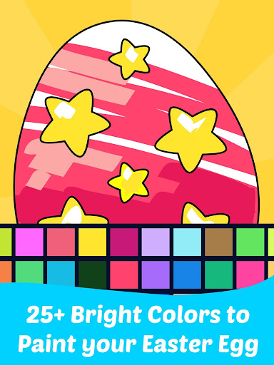 Easter Egg Coloring Game For Kids Latest screenshots 1