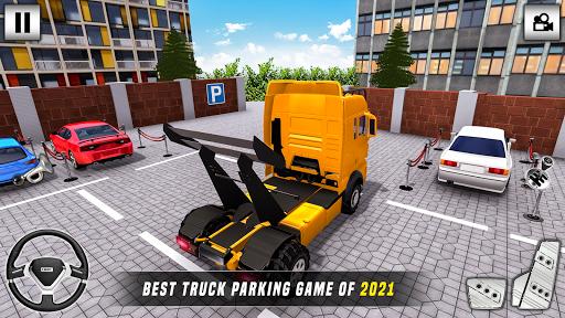 Truck Parking King Truck Games 2020 APK MOD (Astuce) screenshots 1
