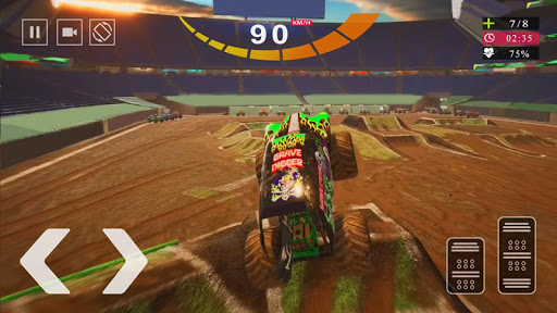 Monster Truck 2020 Steel Titans Driving Simulator screenshot 1