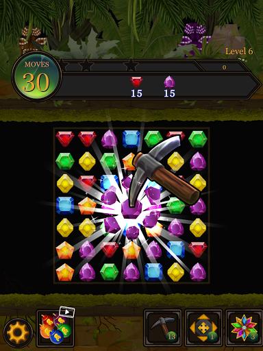 Secret Jungle Pop : Match 3 Jewels Puzzle Apkfinish screenshots 20