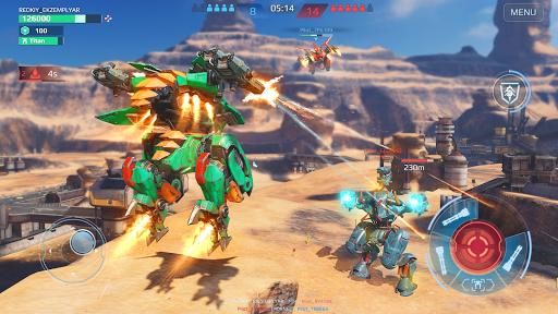 Code Triche War Robots. Batailles multijoueur tactiques 6v6 APK MOD (Astuce) screenshots 2