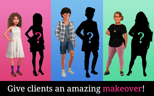 My First Makeover: Stylish makeup & fashion design screenshots 17