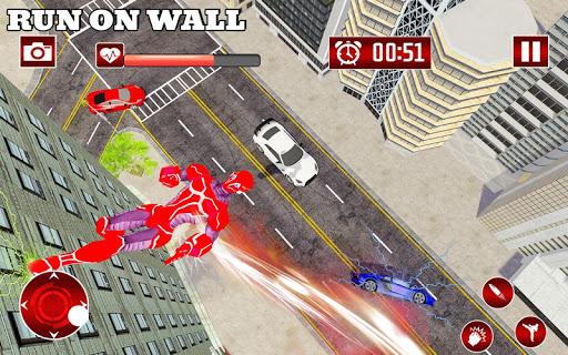 Real Robot Speed Hero apkpoly screenshots 5