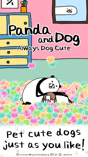 panda and dog: always dog cute screenshot 1