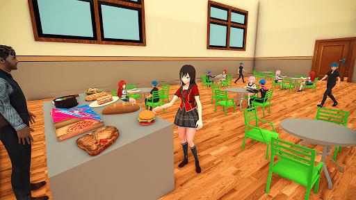 YUMI Girl High School Simulator - Anime Simulator 1.0 screenshots 3