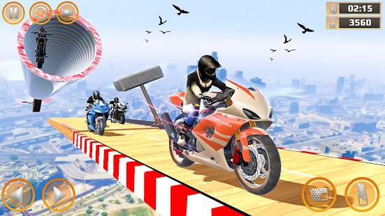 Mega Ramp Impossible Tracks Stunt Bike Rider Games 3.4.2 Screenshots 2