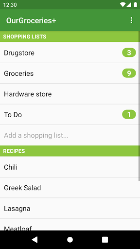 Download APK: Our Groceries Shopping List v4.0.5 [Premium] [Mod Extra]