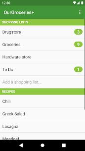 Our Groceries Shopping List Premium v4.0.5 MOD APK 1
