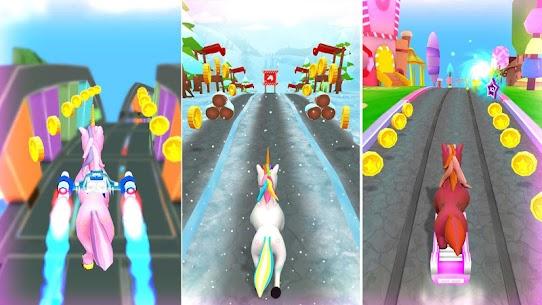 Tek Boynuzlu 3D Koşu Oyunları Apk Güncel 2021** 4
