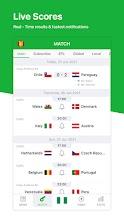 All Football - Live Scores & News for Euro 2020 screenshot thumbnail